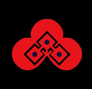 半纏 オリジナル ロゴ 大紋