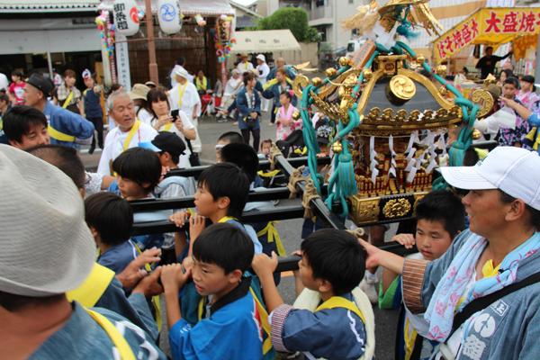 2016上溝夏祭り 子供神輿