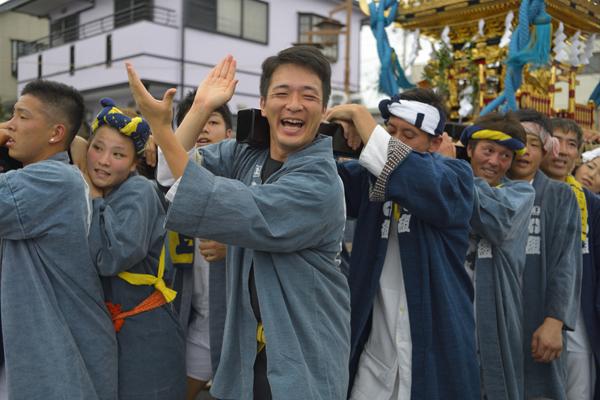 2016上溝夏祭り 神輿渡御03