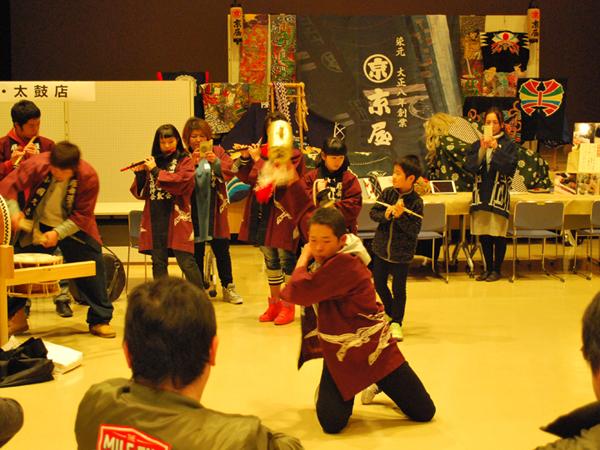 郷土芸能演舞