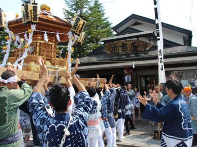 祭り、神輿、半纏、祭り装束