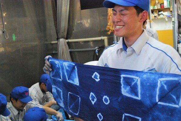 藍染 染物体験 手拭い ハンカチ