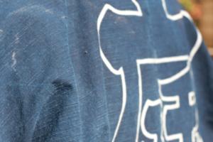 藍染め 半纏 法被 色落ち 楽しむ