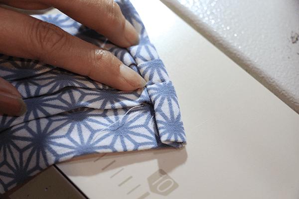 手ぬぐい オリジナル マスク 作り方 DIY 縫い方