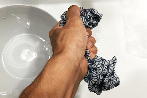手ぬぐい オリジナル あずま袋 洗い方