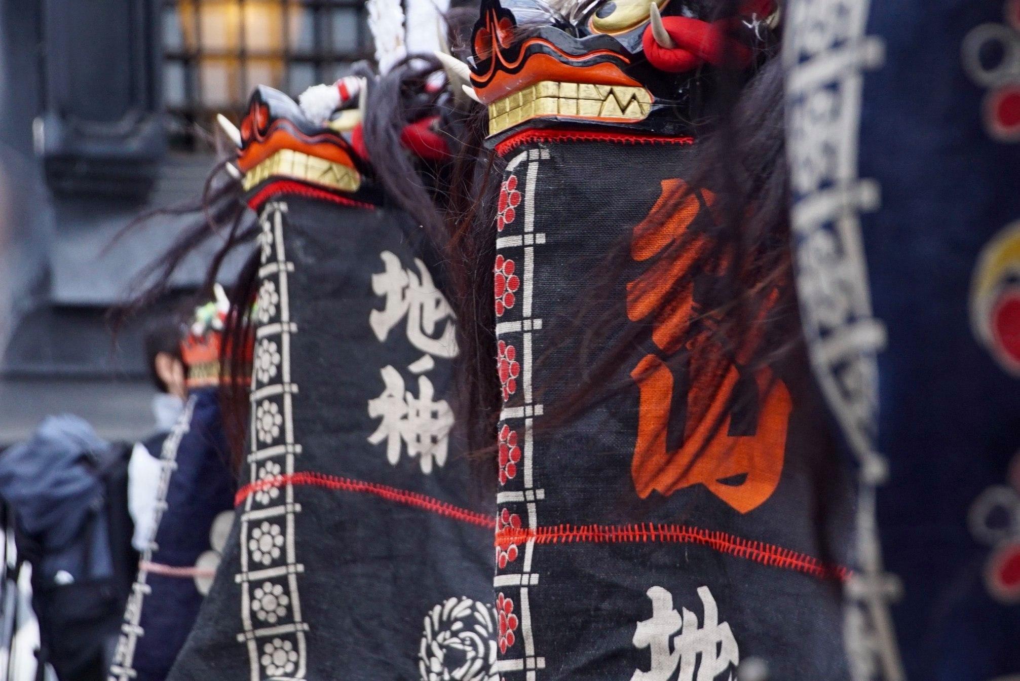 縦糸横糸合同会社 鹿踊り 伝統芸能 手拭い てぬぐい オーダー 製作 オリジナル
