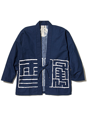 LOCAL WEAR IWATE 半纏(角字)