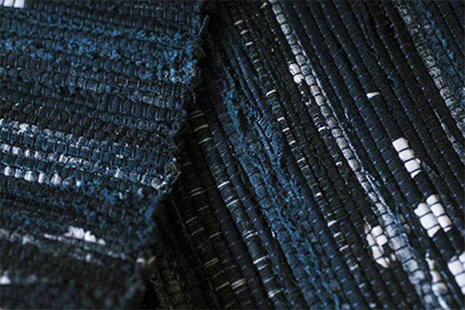 幸呼来 Japan(さっこら じゃぱん)の織り子による裂織り