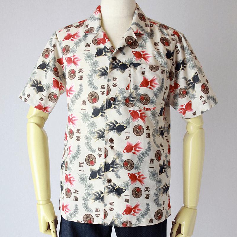 京屋オリジナル アロハシャツ
