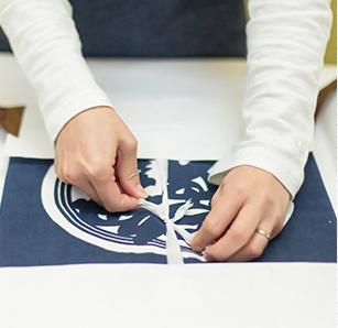 縫製の流れ 04 仕上げ
