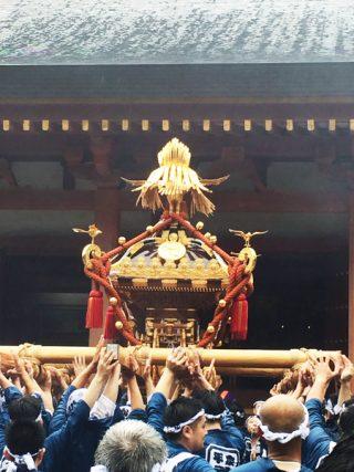 2016 平泉 水掛け神輿07