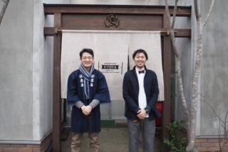 京屋染物店と岩谷堂箪笥のコラボ