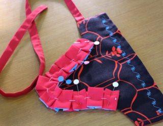 伝統芸能 衣装 神楽 手甲 製作 体験