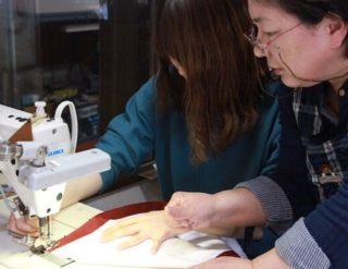 縫製勉強会 半纏 法被 製作 縫製 オーダーメイド