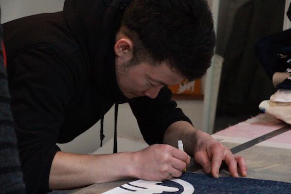 半纏 法被 製作 オーダーメイド 縫製 裁断