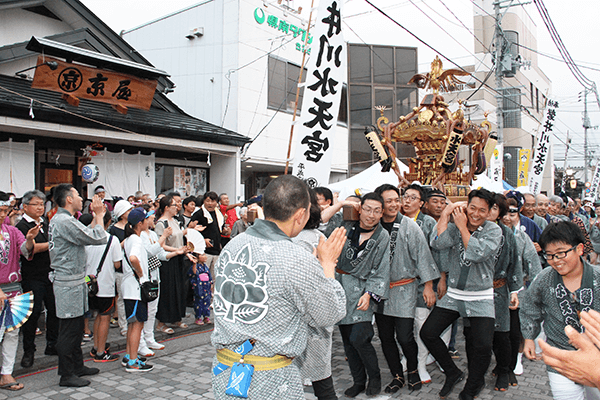 一ノ関 水天宮 神輿 祭