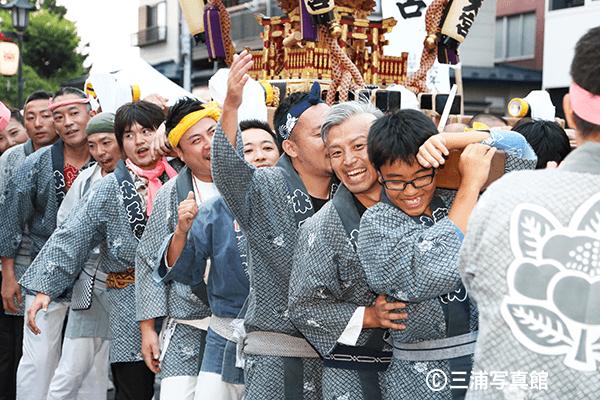一関夏祭り 錦町フェス 半纏 はっぴ 祭り 神輿