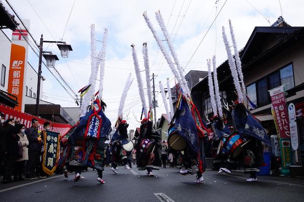 行山流鹿踊 伝統芸能 衣装 製作