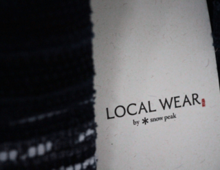 LOCAL WEAR IWATE snow peak 京屋染物店