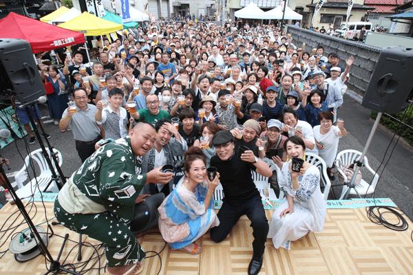 錦町フェス 水天宮 乾杯
