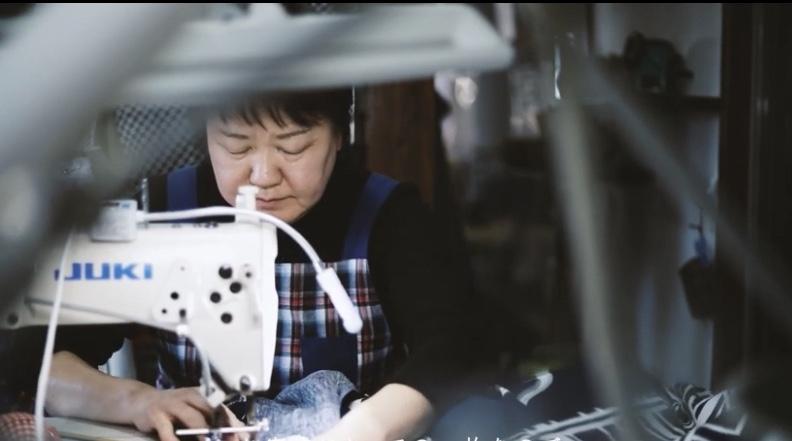 縫製 染物 半纏 伝統