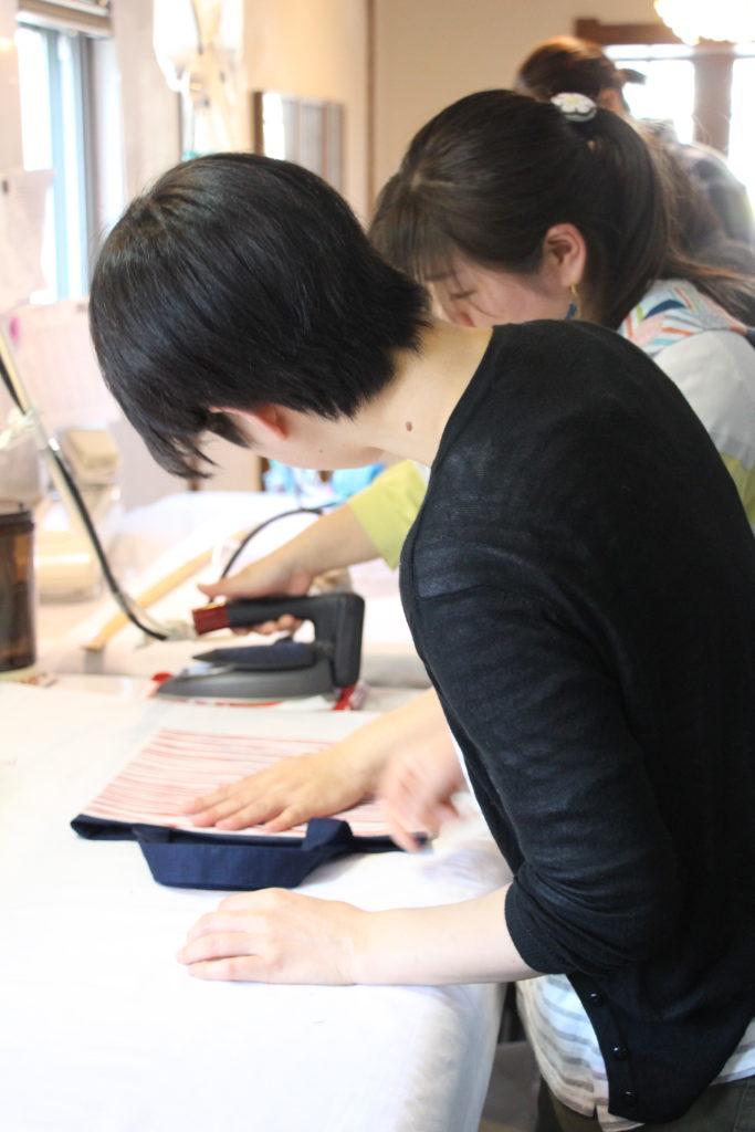 縫製 京屋染物店 ワークショップ