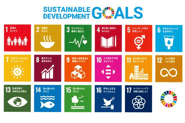 SDGs17の目標 持続可能な社会の実現のための17の目標