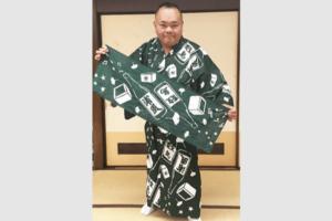 浴衣 オリジナルオーダーメイド製作 浦風親方