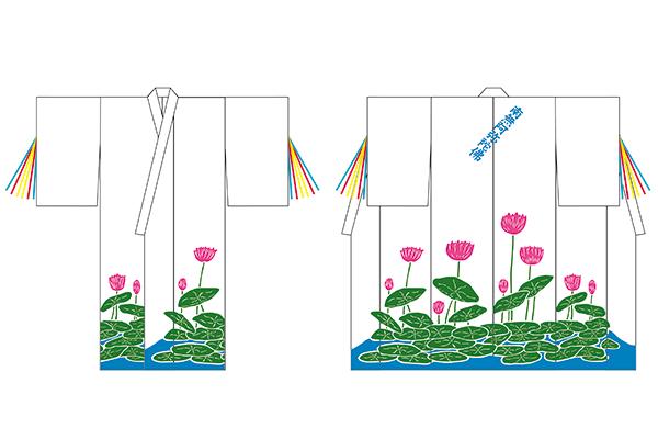 浴衣 オリジナルオーダーメイド製作 白浜剣舞 デザイン