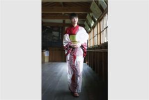 浴衣 オリジナル オーダーメイド 製作 夏祭り 縞結び 女性用